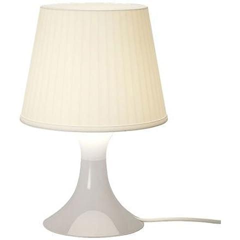 Ikea LAMPAN Lámpara de mesa, blanco