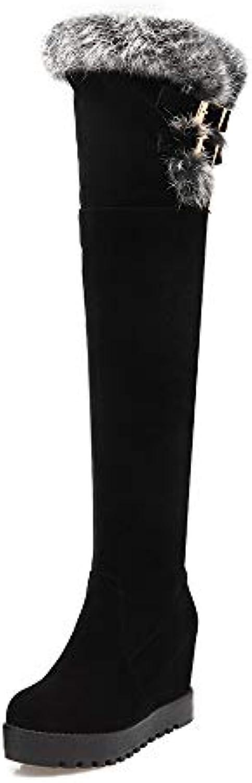 I Caldi Stivali Alti Foderati di Lana per per per Donna Inverno Stivali Martin Aumentano Gli Scarponi da Neve in Pelliccia...   Ottima qualità  a31c2c