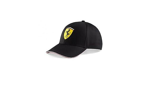 amazon ferrari baseball cap f1 official black one size books red