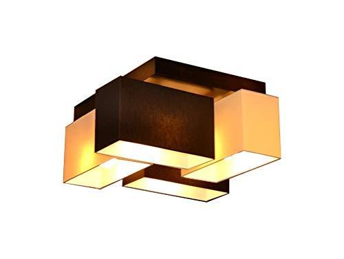Lámpara de techo plafón Milano b4d lámpara de 4 focos diferentes variantes