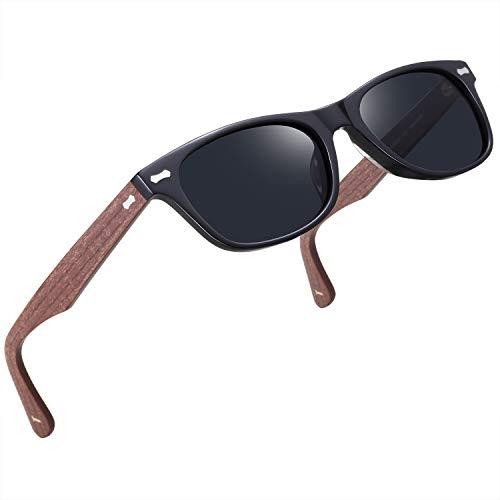 TSEBAN Retro Polarisierte Damen Sonnenbrille 100% UV400 Schutz Outdoor Brille für Fahren Golf Angeln, Acetat Rahmen