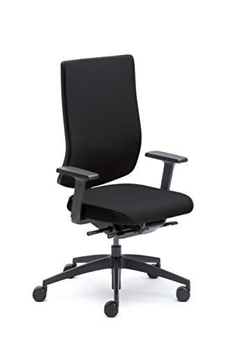 Sedus se:do Bürostuhl, Drehstuhl, Designstuhl, Schreibtischstuhl Schwarz, 83 x 68 x 121 cm