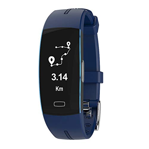 GLDMT P3 Smart Bracelet PPG+ECG Blood Pressure Heart Rate Electrocardiogram IP67 Waterproof...