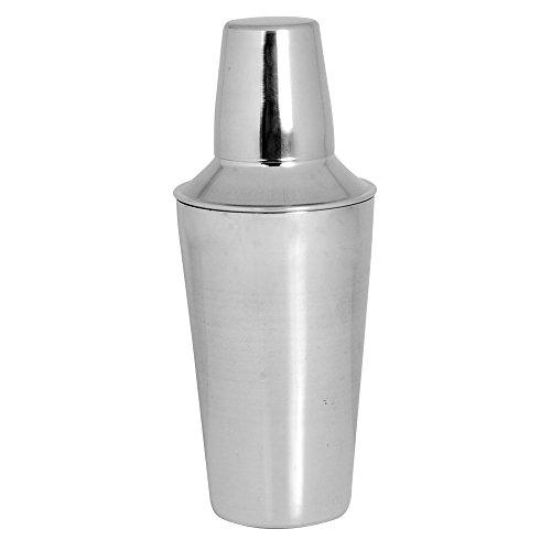 Kosma Shaker en acier inoxydable | verre | Shaker | Martini Shaker cocktail sans alcool (750 ml)