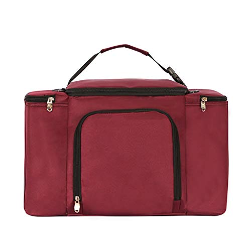 JQZLXYCZWL Tragbare Lunchbox-Tasche, Lunch-Tasche, Isolierte Tasche, Lunch-Tasche, Handschellen-Picknicktasche, Isolierte Aluminiumfolie-Picknicktasche, Dicker Reis, Frischhaltebeutel, Picknicktasche