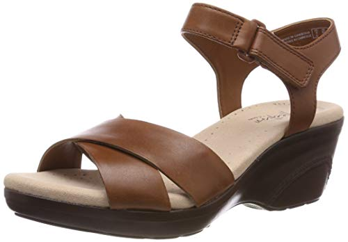 Deb Plateausandalen, Braun (Mahogany Leather), 38 EU ()