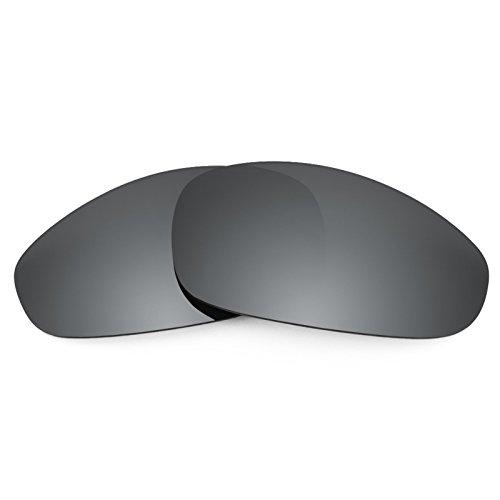 Revant Ersatzlinsen für Oakley Juliet Polarisierung Elite Schwarz Chrom MirrorShield®