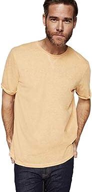Springfield - Basic T-Shirt - gold