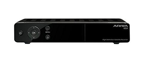 Ferguson Ariva 103 - Receptor de TV por satélite (1080p, DVB-S, 2 x USB, HDMI), negro