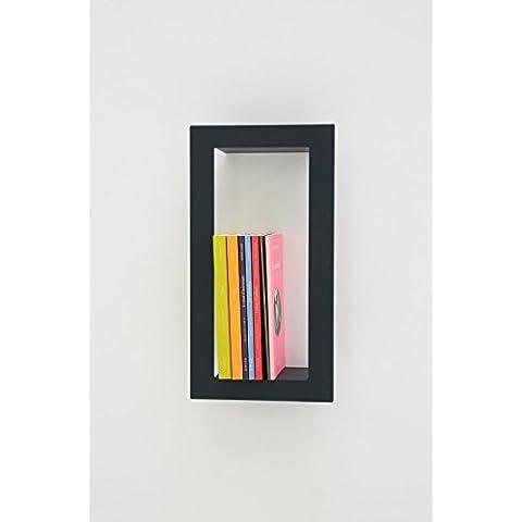 PRESSE CITRON - Presse Citron Mensola parete moderno mensola design High Stick ardesia Acciaio laccato opaco