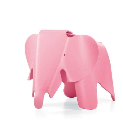 Vitra 21502904 Eames Elephant hellrosa, durchgefärbtes Polypropylen, matte Oberfläche, 417 x 412 x 785 mm