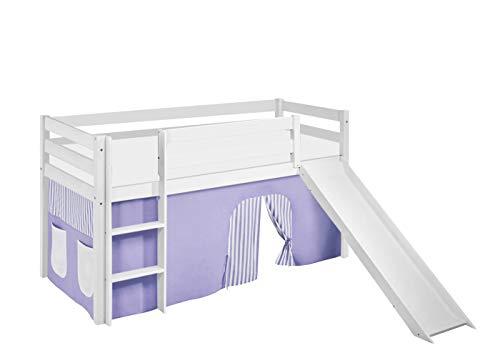 Etagenbett Hochbett Spielbett Kinderbett Jelle 90x200cm Vorhang : Hochbetten elsa