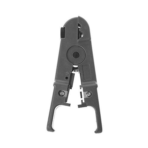 Cat5e 110 Block (Llwei Automatischer Abisolierzange Elektrischer Schneider Werkzeug Multifunktional verstellbar, grau)