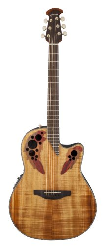 OVATION CE44P FKOA GUITARS GUITARRA  FIGURED KOA