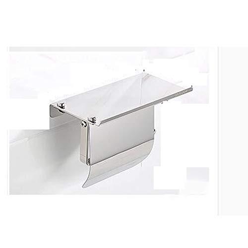 Radvihay Toilettenpapierhalter Toilettenpapierhalter Mit Abdeckung Wand Bad Handtuch Ring wasserdichte Papier Tissue Holder