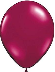Folat 08093 - Globos metálicos (100 unidades), color rojo