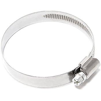 70 mm Collier de serrage v2A w4 inox /ø 50 largeur 13 mm dIN 3017 qualit/é industrielle il /® /à vis-cuir