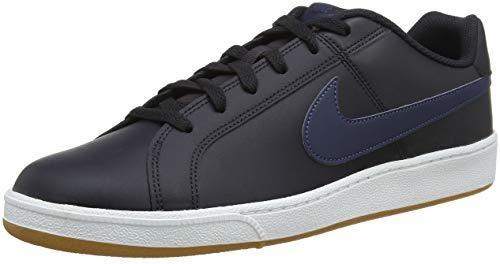 Nike Herren Court Royale Sneakers, Mehrfarbig (Oil Grey/Thunder Blue/Gum Light Brown 006), 44.5 EU (Nike Damen-tennis-schuhe Grün)
