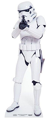 (falksson Aufsteller aus Pappe Stormtrooper - Star Wars in Lebensgröße 183 cm)
