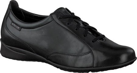 Mephisto Womens Valentina Leather Shoes Black