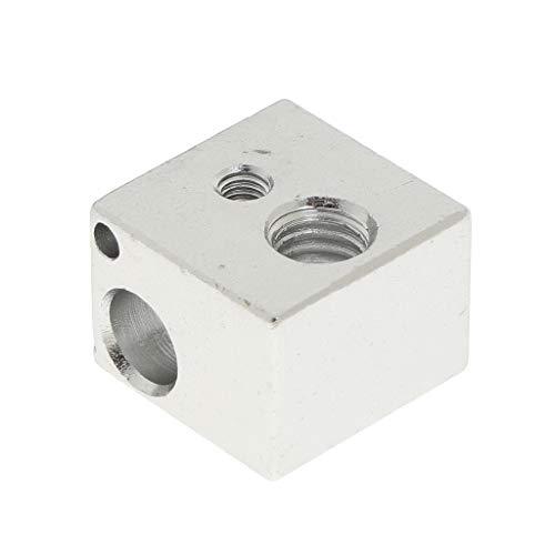 SDENSHI Blockheizung Aluminium Für Reprap Makerbot MK8 3D Drucker Schraubloch M3 M6 V5