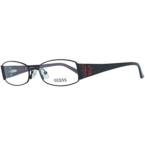 Guess Damen Brille Gu2249 B84 52 Brillengestelle, Schwarz,