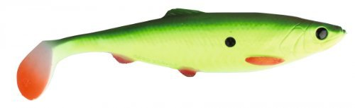 Savage Gear Herring Shad (16cm, 19cm o. 25cm) + Bleikopf + Stinger, Länge:25cm;Farbe:Fluo Yellow Green