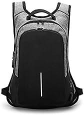 Denler™ Student Back Zipper Business Laptop Anti Theft Backpack