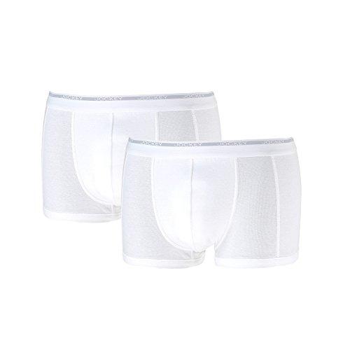 Jockey® Herren, Modern Classic Short Trunk 2er-Pack, 18502922 Weiß