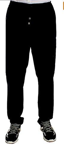 Dolce & Gabbana Legere Hose aus Baumwolle, Stretch, Schwarz - Schwarz - XX-Large - Dolce Gabbana Hose