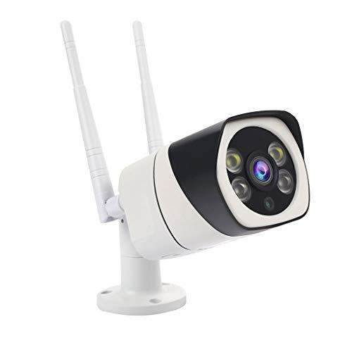 Wasserdichte Überwachungskamera, Chshe, Hd 720 P Wifi Ip Nacht Outdoor Überwachungskamera Nachtsicht Ir Outdoor Ue, Metall + Pc Weiss (C)