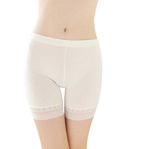 Damen Unterwäsche Slip Unterhosen Sicherheits Shorts Unterwäsche Kurz Leggings Panties Softe Spitze Hipster Pantys
