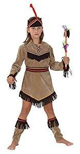 Preisvergleich Produktbild Bristol Novelty Native American Girl Deluxe Kostüm (XL) Kinder Alter 9–11 Jahre