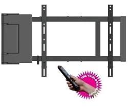 """TV Wandhalterung mit Motor und Fernbedienung für TV von 37 """"bis 60"""". Ref. Multibrackets motorswingarm Large"""