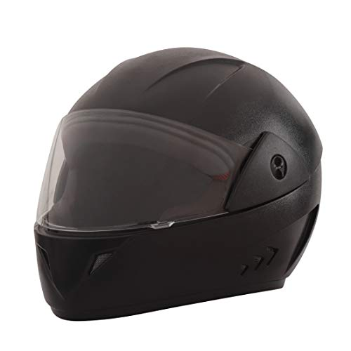 Sepia Premium Rider Full Face Helmet (Matt Black, M to L) ISI Approved
