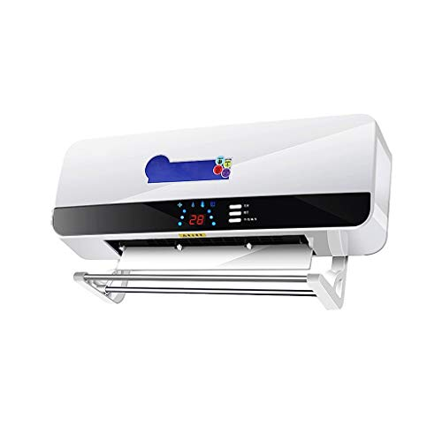 GYF Calefactor eléctrico Calentador infrarrojo de la Pared con los pies insertable, Control Remoto...
