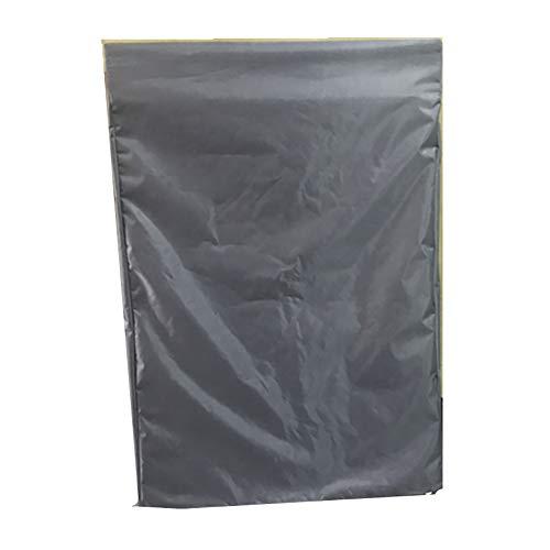 Housse de Protection Couverture de meubles lit Siesta/housse de protection rabattable inclinable lit/bureau, sac solaire étanche (Couleur : Gray, taille : 63 * 11 * 93)