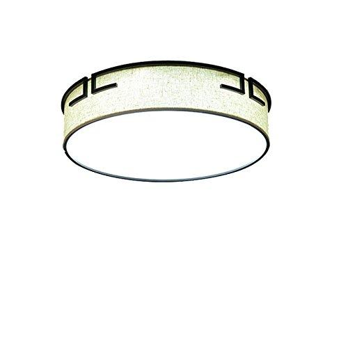 YT Einfache Moderne rechteckige Runde LED-Deckenleuchte der Chinesischen Art,Tricolor,600 Runden