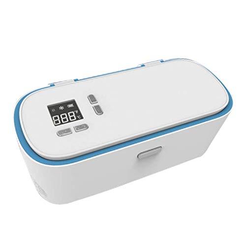 WYJW Ice Mini Nevera Refrigerador de Insulina Refrigerador Portátil para Coche 12V...
