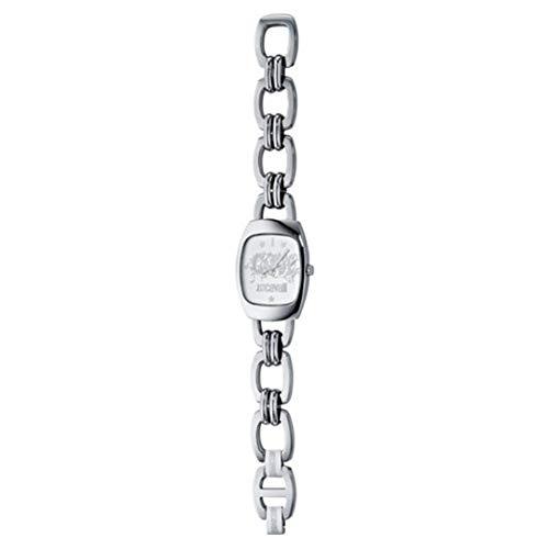 Just Cavalli JC JUST CAVALLI Love R7253630515 - Reloj de Caballero de Cuarzo, Correa de Acero Inoxidable Color