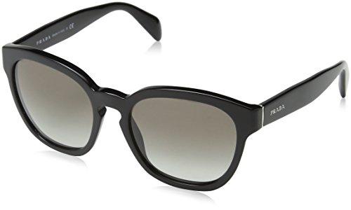 Prada Damen 0PR17RS 1AB0A7 53 Sonnenbrille, Schwarz (Black/Grey)