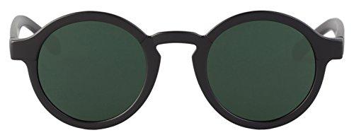 37103153e8 MR.BOHO, Matte black dalston with classical lenses - Gafas De Sol unisex  color