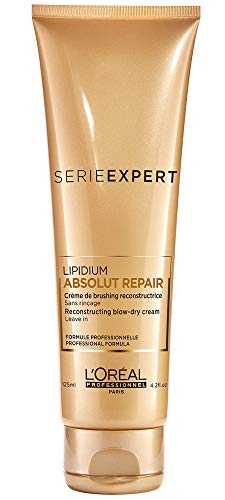 L'Oréal Professionnel - Absolut Repair Lipidium - Crema de brushing reconstructora - 125 ml