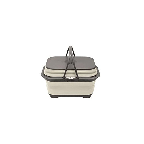 Outwell Collaps - Equipamiento para cocinas de camping - with Handle & Lid gris/blanco 2018