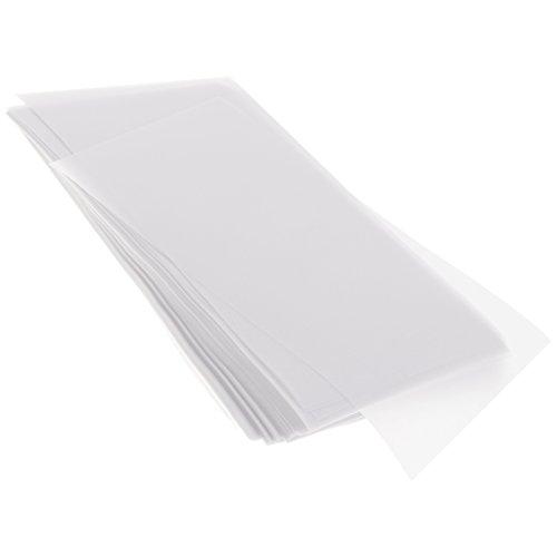 Baoblaze 200 Stück Transparentpapier Faltblätter für Scrapbooking