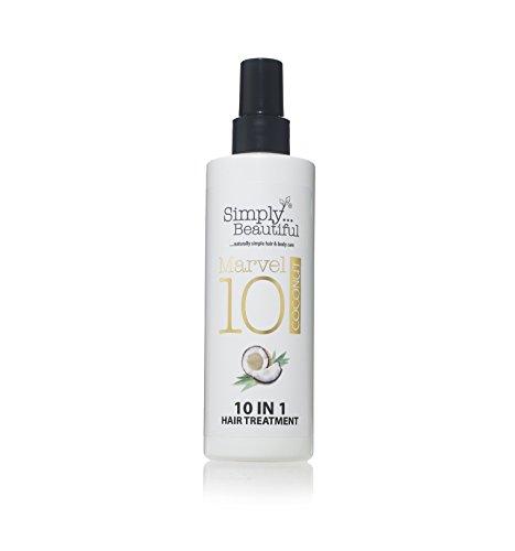 Hitze-schutz-spray (Coconut Hitze Schutz Spray und geschädigtes Haar Repair Treatment, 10Amazing Behandlungen in 1Flasche-250ml)