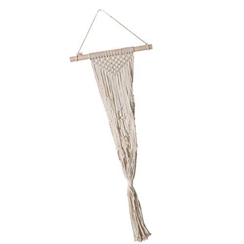 MagiDeal Coton Corde Plante Cintre 39 Pouces Fait Main Coton Plante Fleur Pot Hanger - 109cm