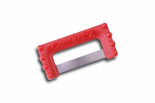 Ipr Zahnzwischenraum Reduktion Streifen System für Kieferorthopäde Proximal Kontakt Lösung Autoklavierbar, Bevel Verbessert Access - Multi, Red IPR Opener 0.12 mm Medium Diamond