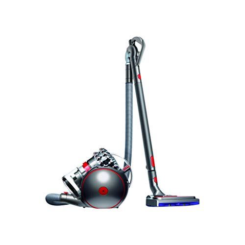 Dyson Cinetic Big Ball Absolute 2 beutelloser Staubsauger EEK A (Inkl. pneumatischer-, Turbinen Carbonfaser-, Tangle-free-, Treppen-Boden-Düse, Anspruchsvolle Reinigung ohne Saugkraftverlust)