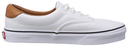 Vans Era 59, Chaussons Sneaker Adulte Mixte Blanc (Washed C L)